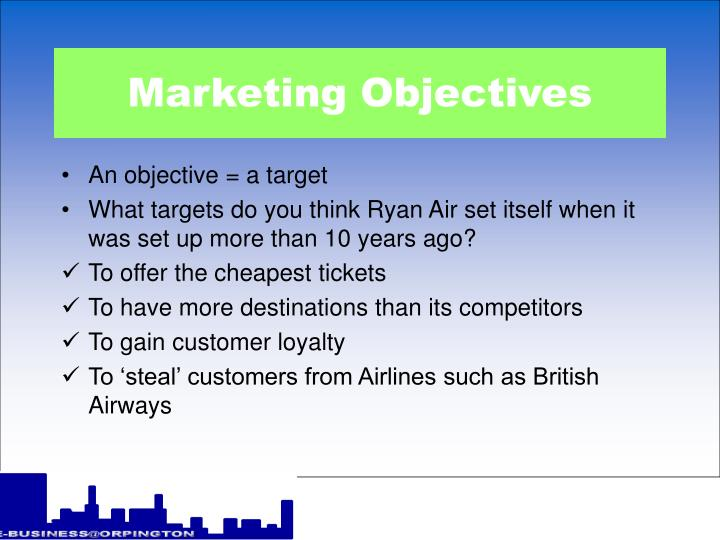 Marketing objectives l.jpg