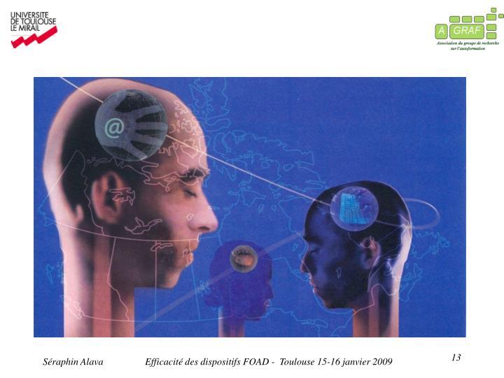 Efficacité des dispositifs FOAD -  Toulouse 15-16 janvier 2009