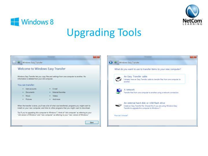 Upgrading Tools