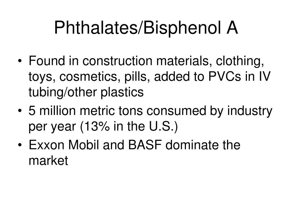 Phthalates/Bisphenol A