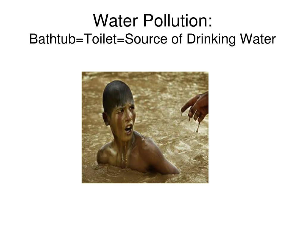 Water Pollution: