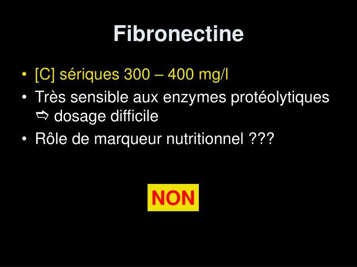 Fibronectine