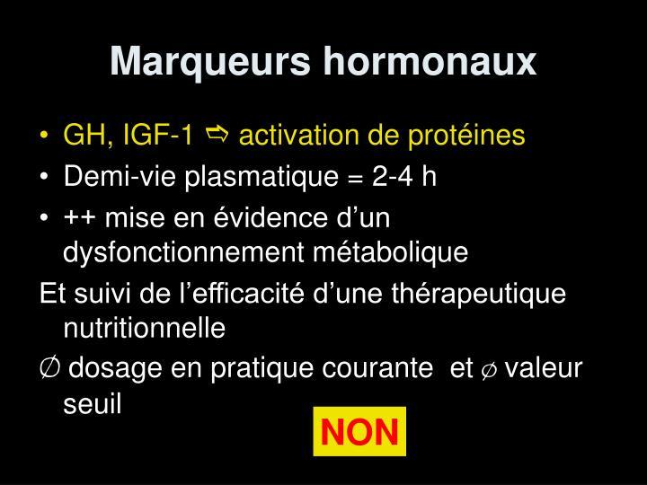 Marqueurs hormonaux