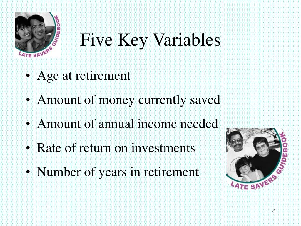 Five Key Variables