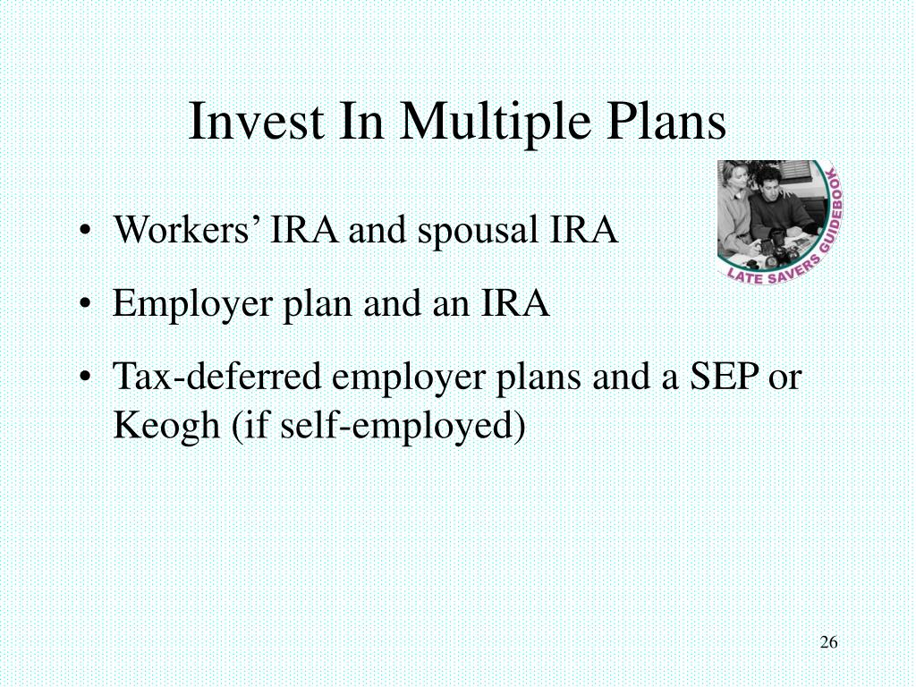 Invest In Multiple Plans