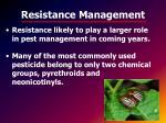 resistance management1