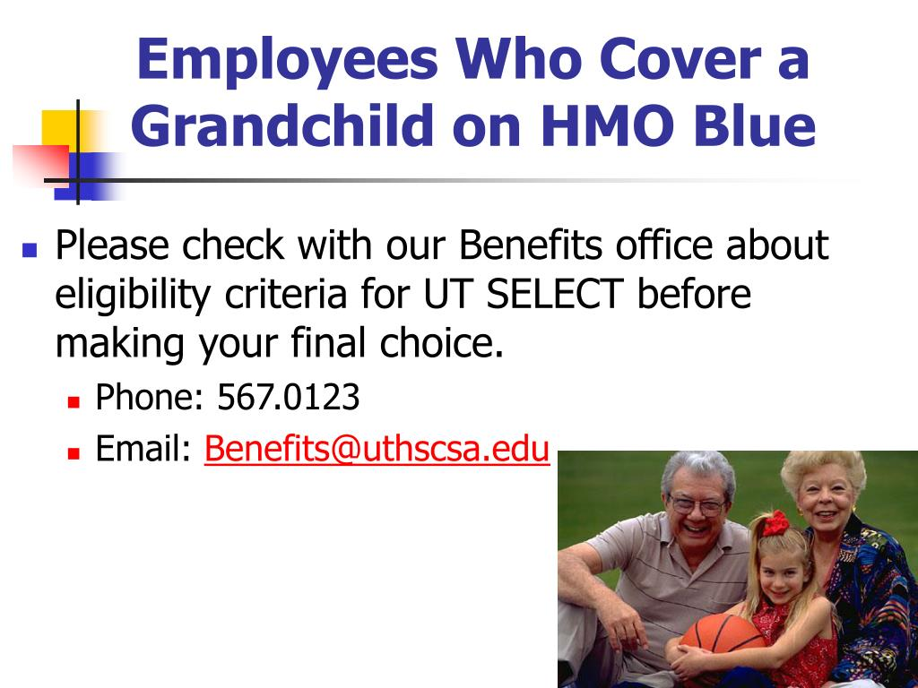 Employees Who Cover a Grandchild on HMO Blue