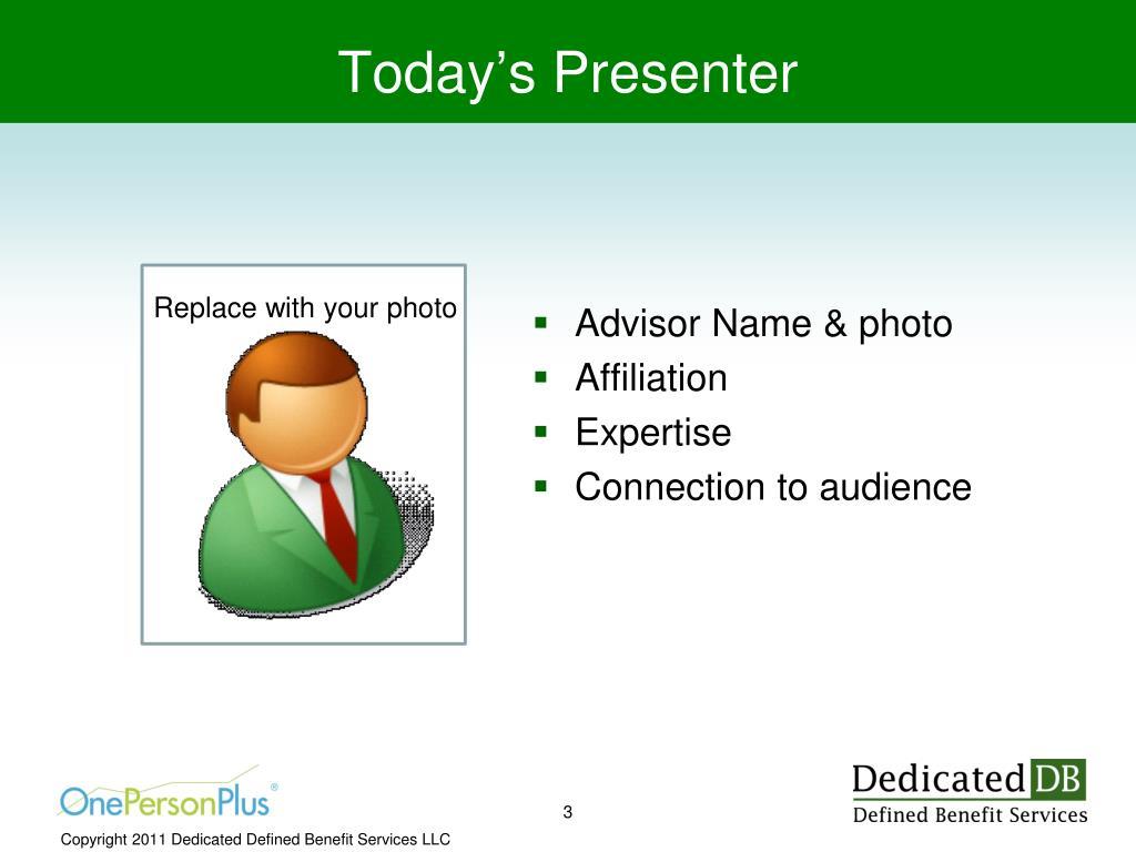 Advisor Name & photo
