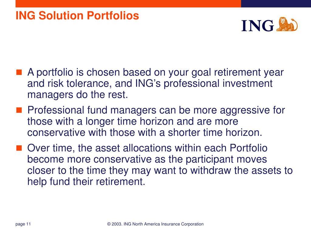 ING Solution Portfolios