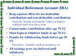 individual retirement account ira18