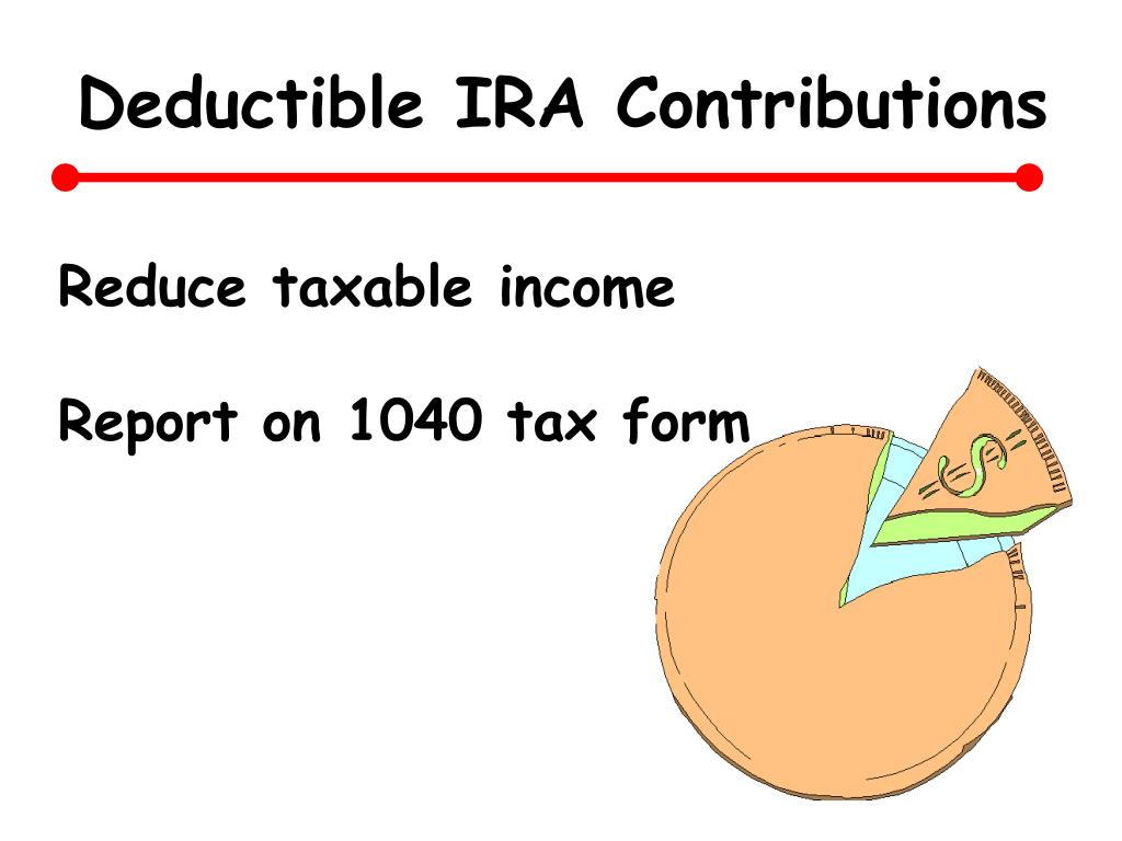 Deductible IRA Contributions