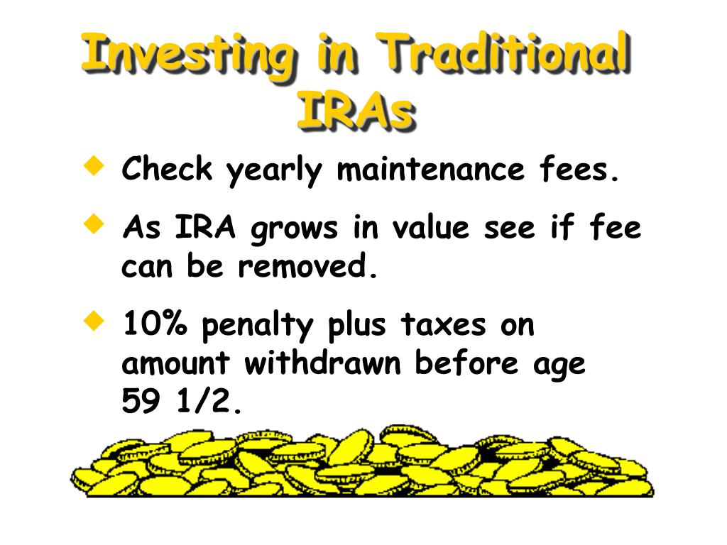 Investing in Traditional IRAs
