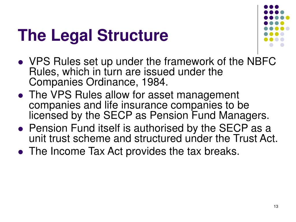 The Legal Structure