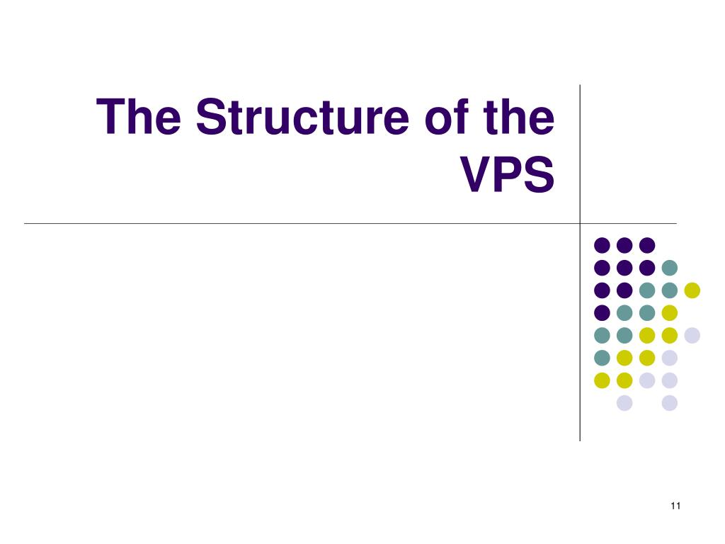 The Structure of the VPS