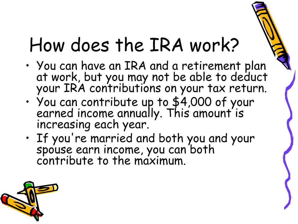 How does the IRA work?
