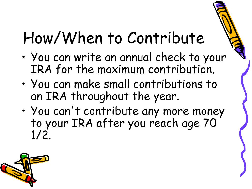 How/When to Contribute