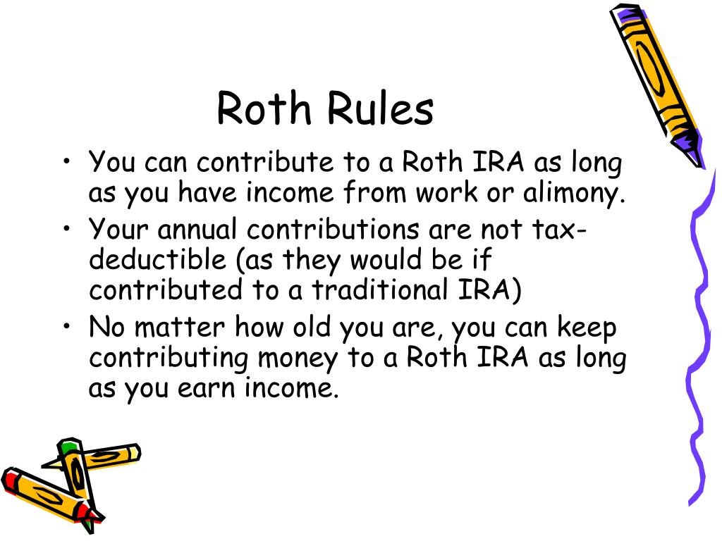 Roth Rules