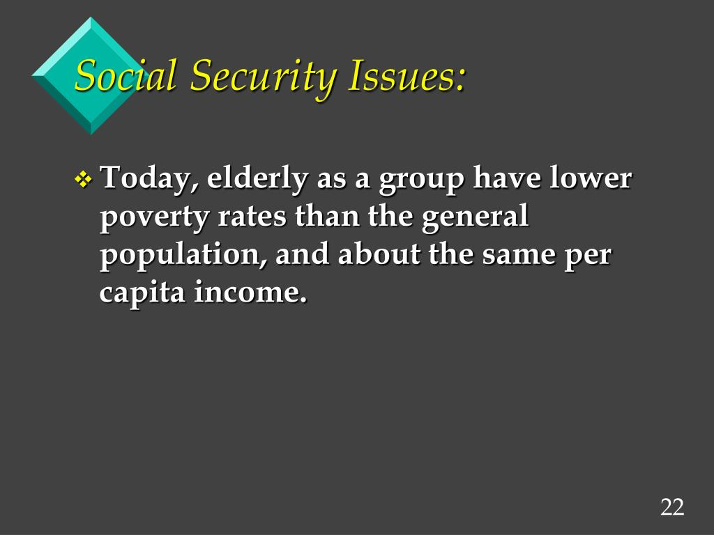 Social Security Issues: