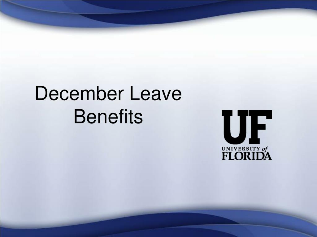 December Leave Benefits