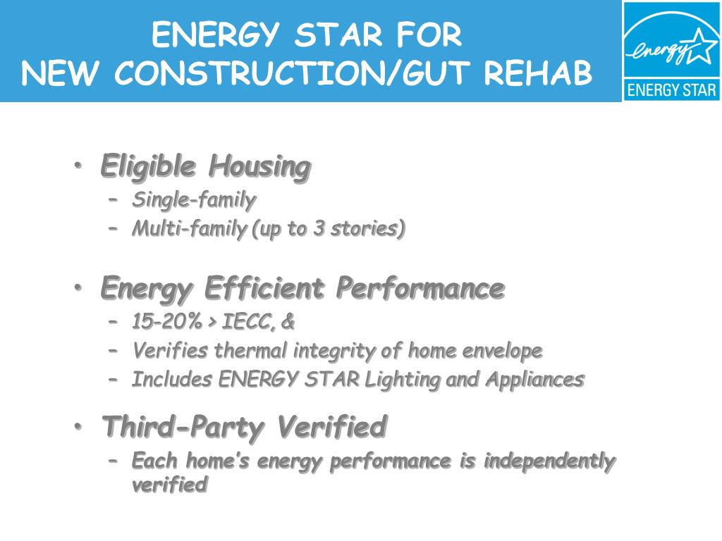 ENERGY STAR FOR