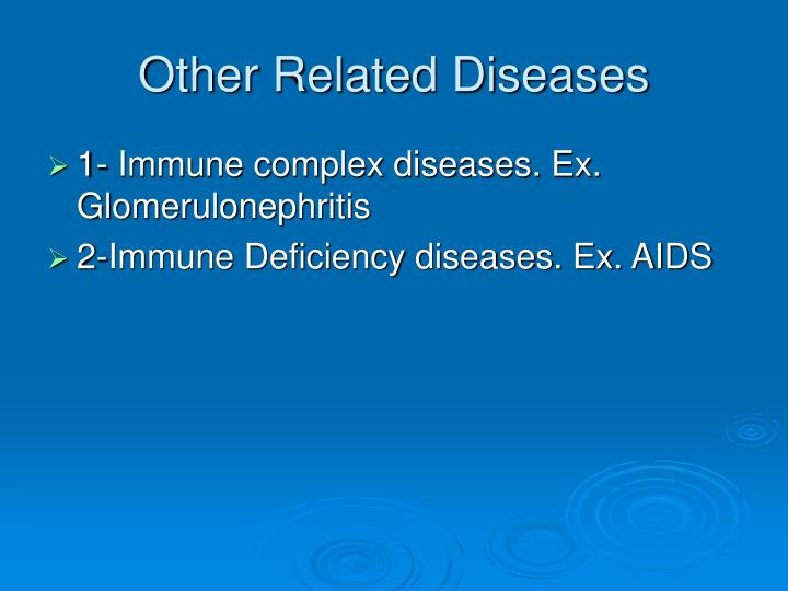 Other Related Diseases