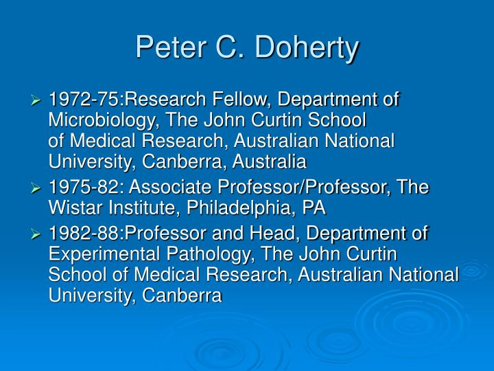 Peter C. Doherty