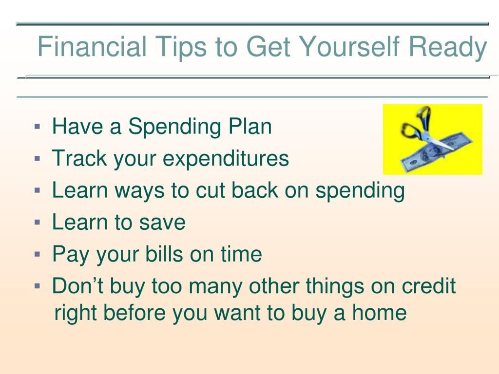 Have a Spending Plan