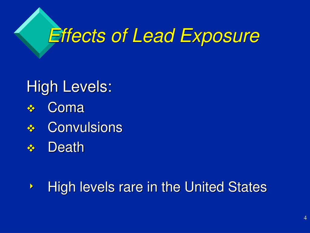 Effects of Lead Exposure