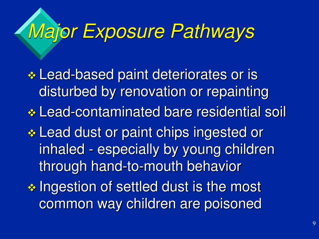Major Exposure Pathways