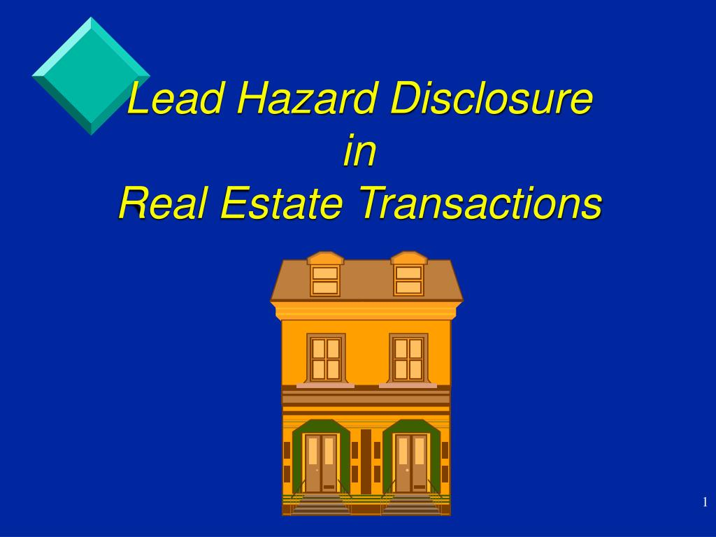 Lead Hazard Disclosure