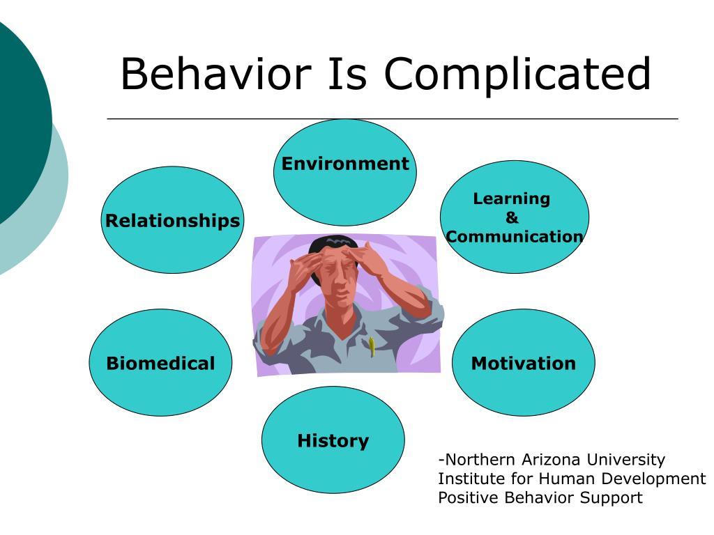 Behavior Is Complicated