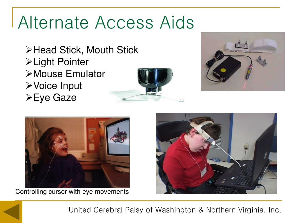 Alternate Access Aids