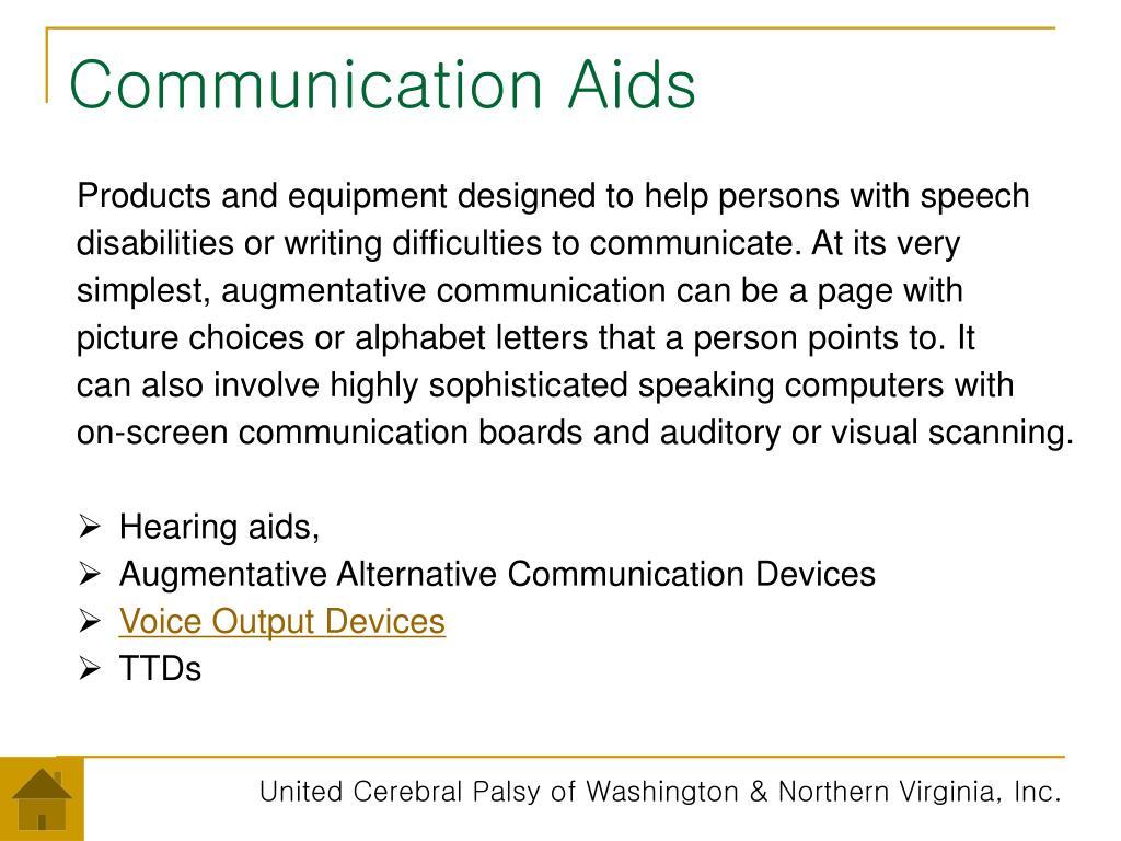 Communication Aids