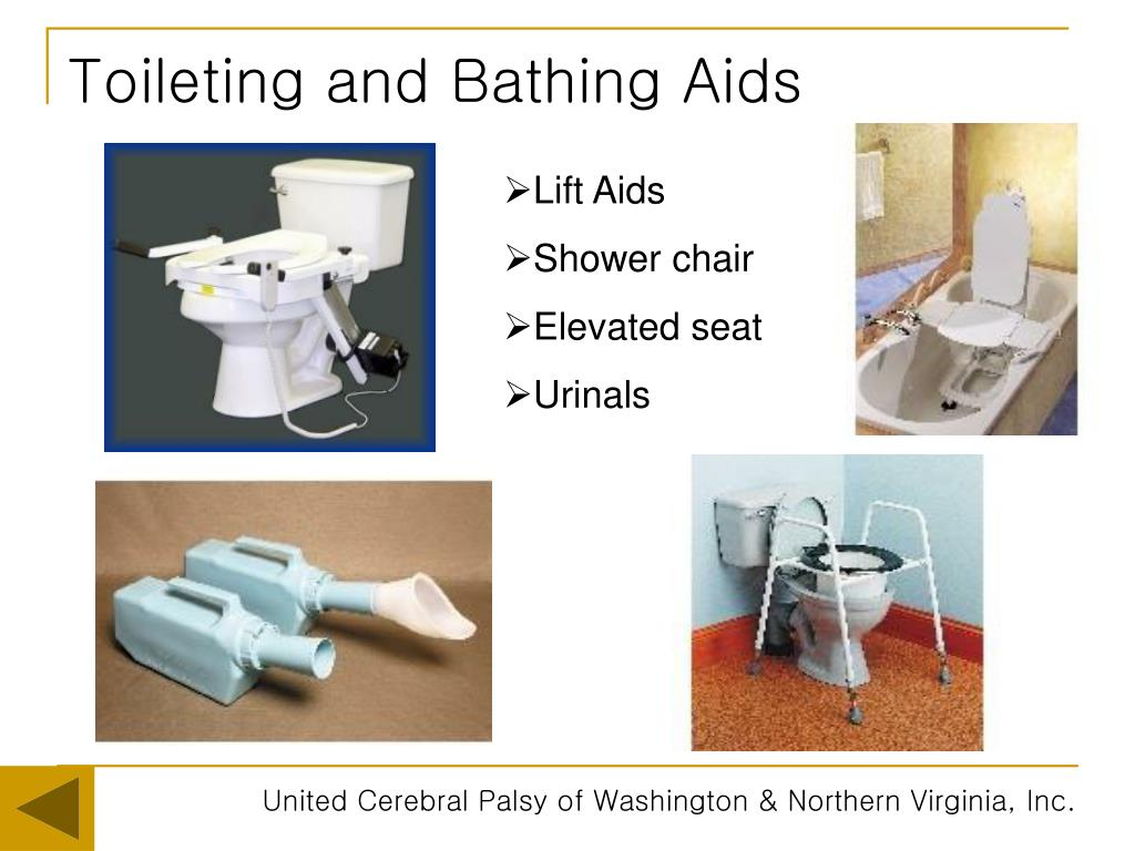 Toileting and Bathing Aids