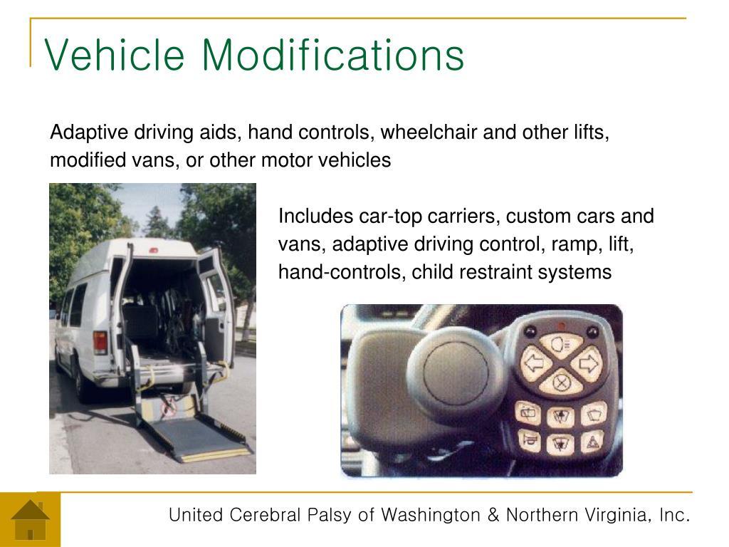 Vehicle Modifications