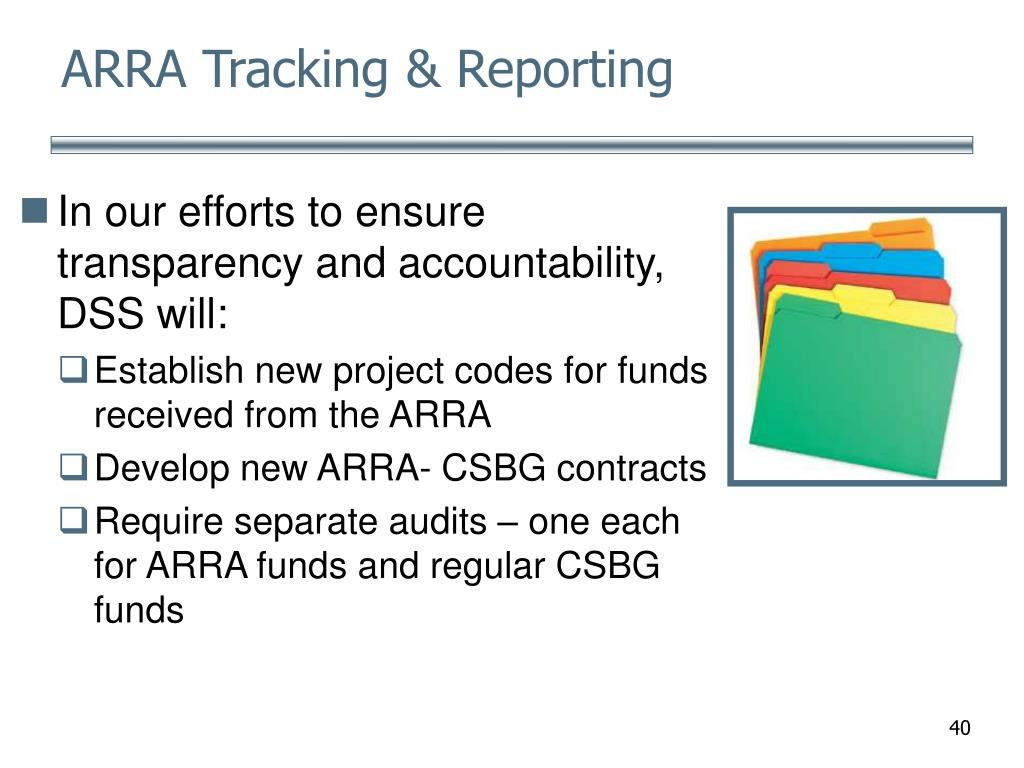 ARRA Tracking & Reporting