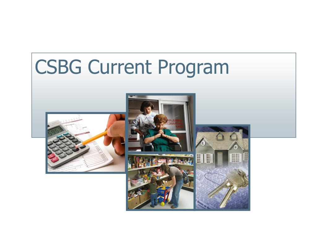 CSBG Current Program