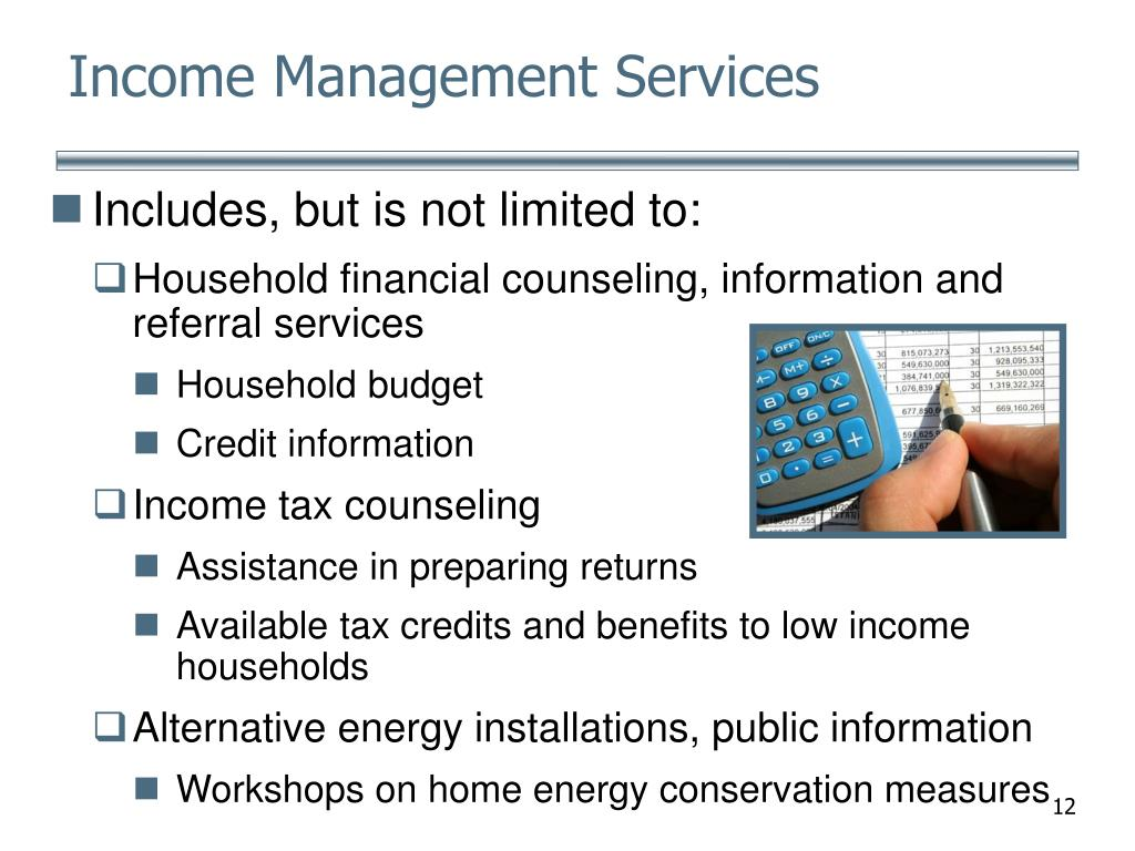 Income Management Services