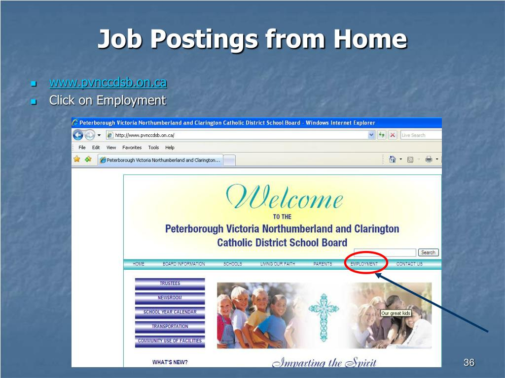 Job Postings from Home