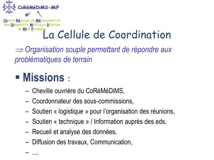 La Cellule de Coordination