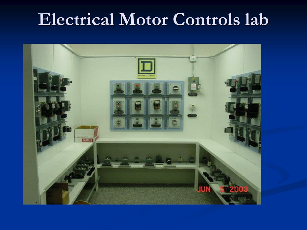 Electrical Motor Controls lab