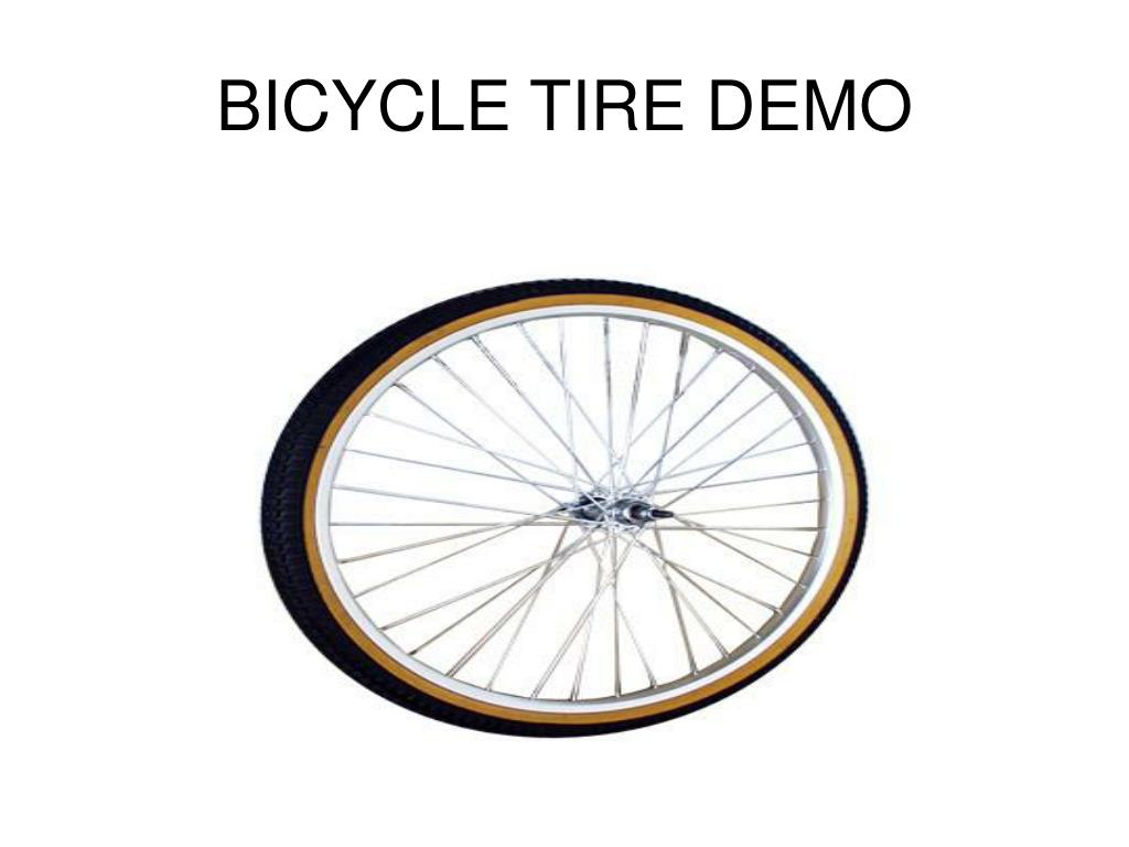 BICYCLE TIRE DEMO