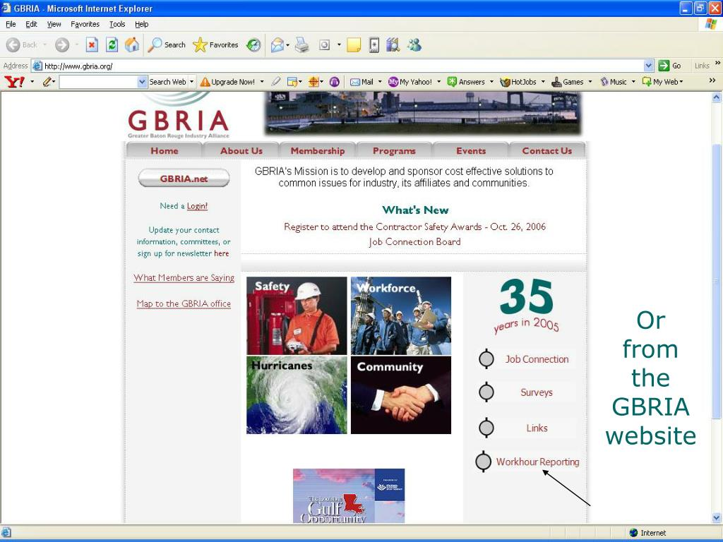 Or from the GBRIA website