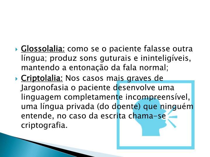 Glossolalia: