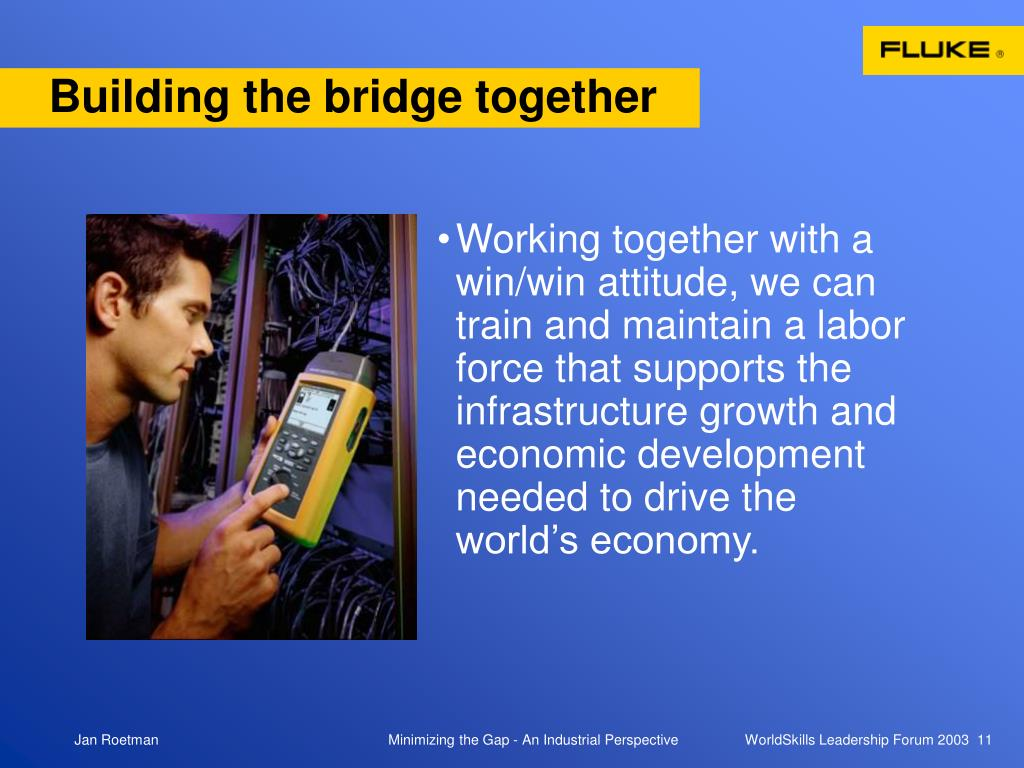 Building the bridge together