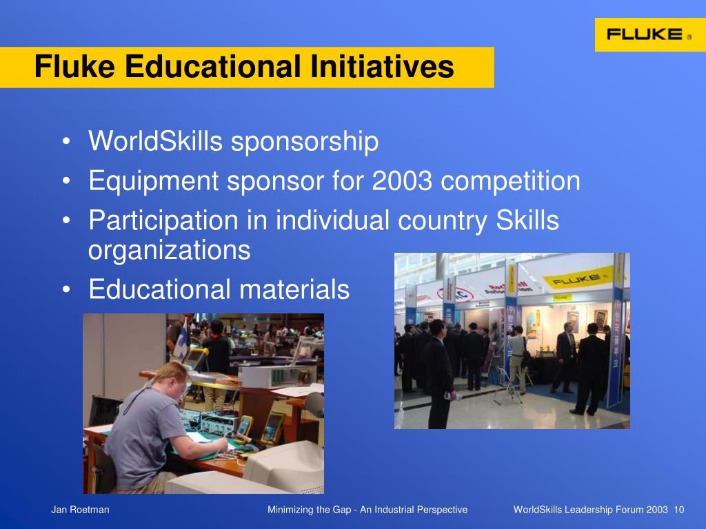 Fluke Educational Initiatives