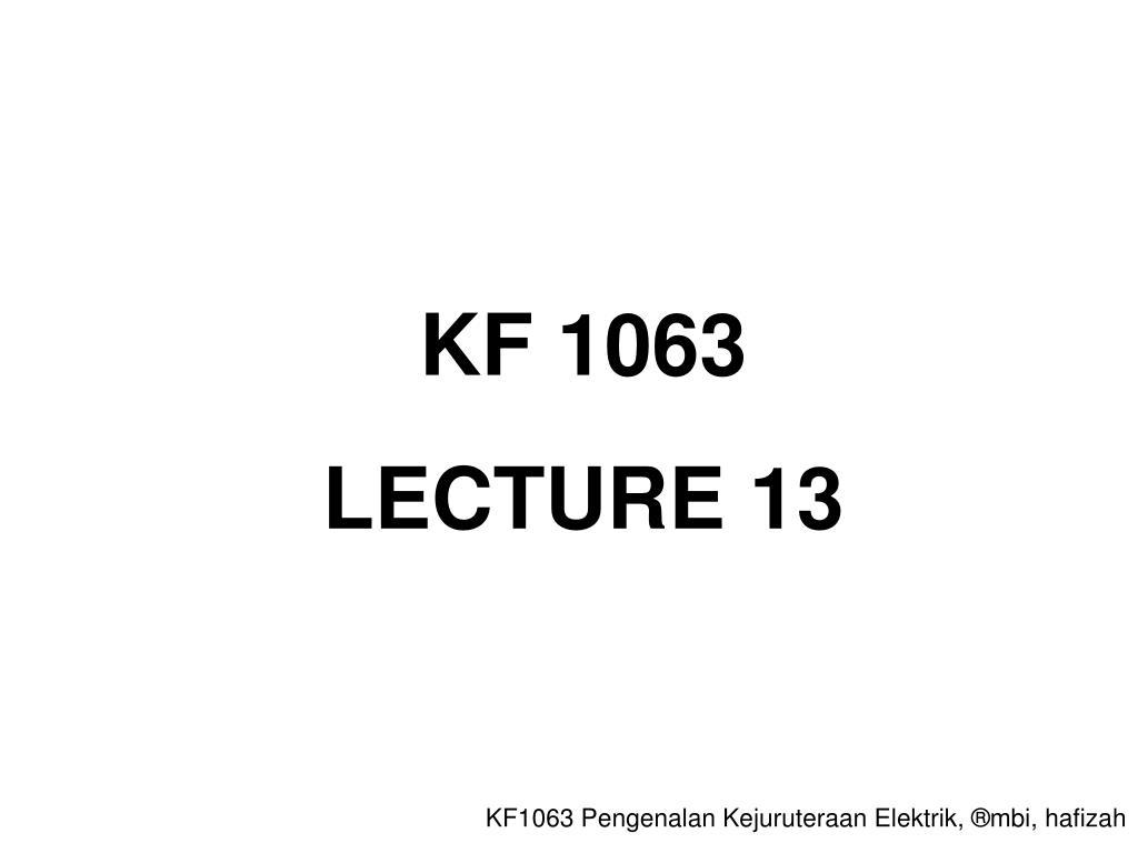 KF 1063