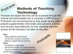 methods of teaching technology
