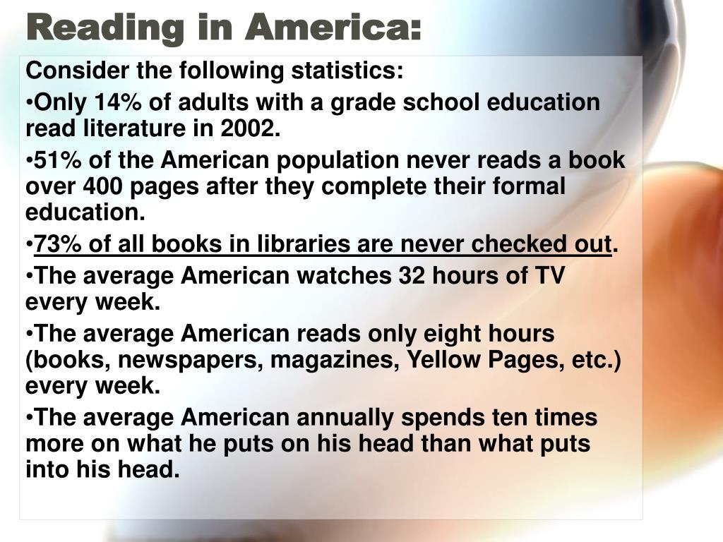 Reading in America: