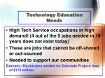 technology education needs41